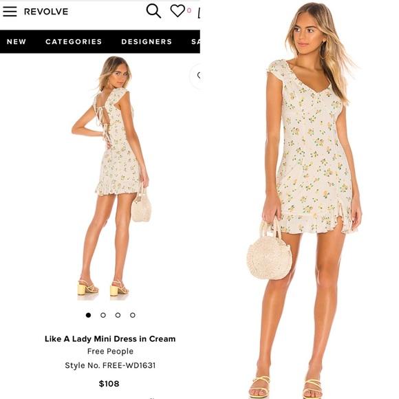 Free People Dresses & Skirts - Free People Like a Lady Dress NWT